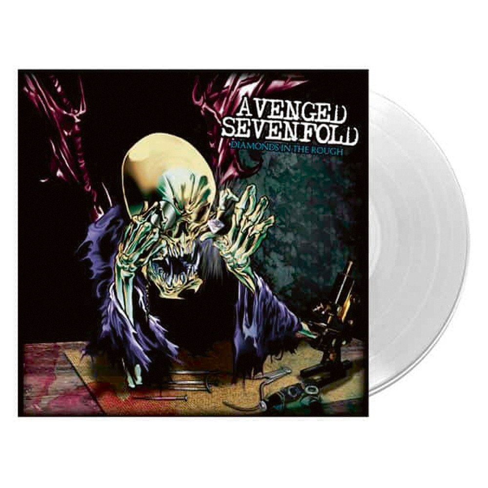 Avenged Sevenfold – Diamonds In The Rough Limited Edition Clear Vinyl