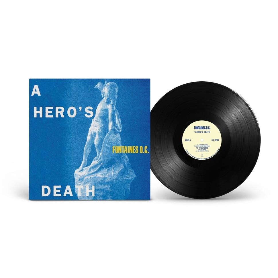 Fontaines D.C - A Heros Death Black Vinyl