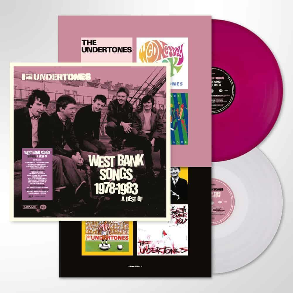 The Undertones – West Bank Songs 1978-1983 (A Best Of) Limited Edition Purple & White Vinyl
