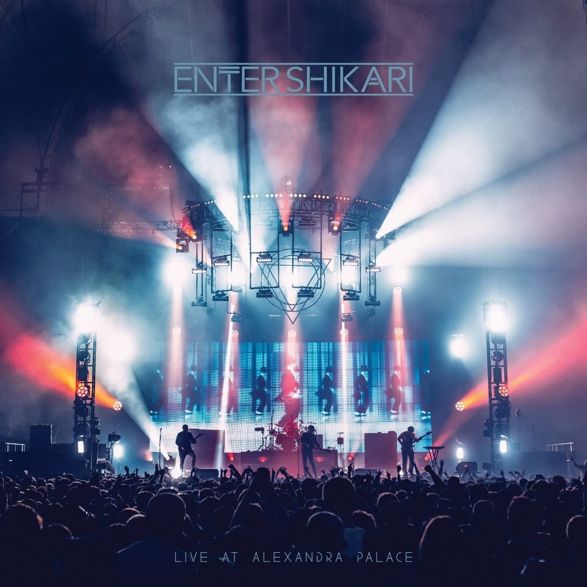 Enter Shikari – Live At Alexandra Palace Limited Edition Blue With Red & White Splatter Vinyl