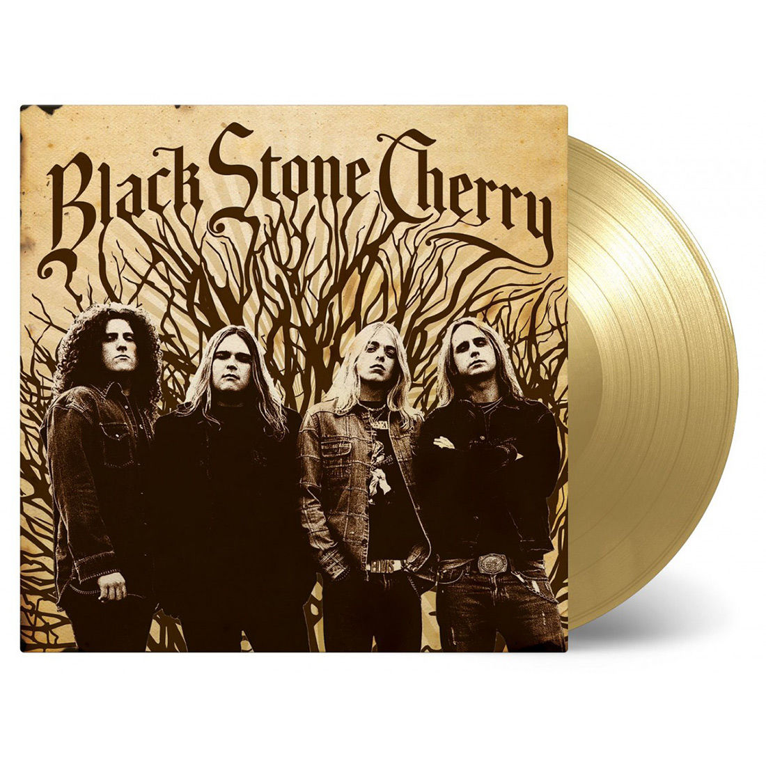 Black Stone Cherry – Black Stone Cherry Limited Edition Gold Vinyl Individually Numbered 2500 Made
