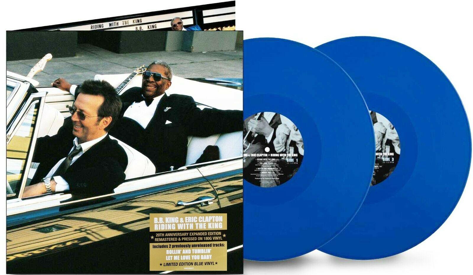 B.B King & Eric Clapton Blue Vinyl