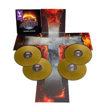 Black Sabbath - The Ultimate Collection Gold 4LP