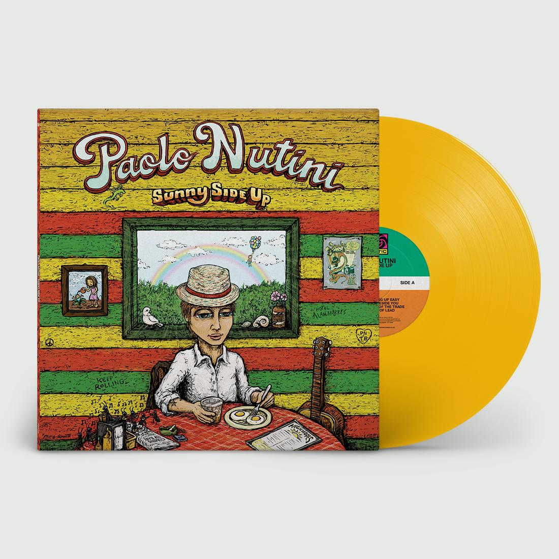 Paolo Nutini - Sunny Side Up Yellow Vinyl