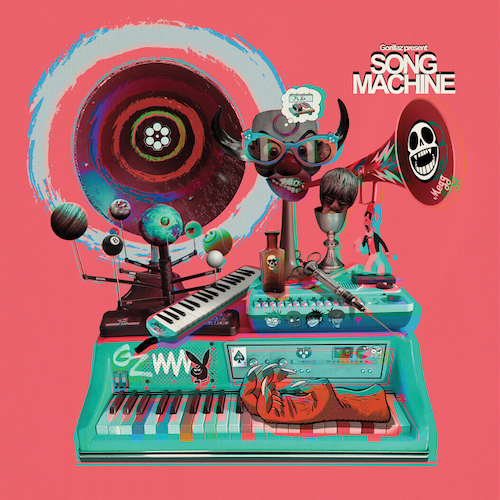 Gorillaz - Song Machine: Season 1 Strange Timez LTD Deluxe 2LP Box
