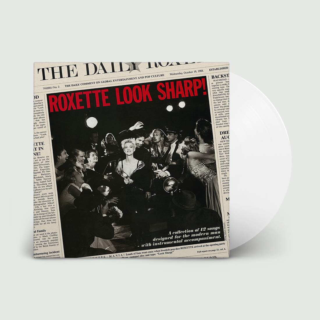 Roxette - Look Sharp - National Album Day LTD Clear Vinyl