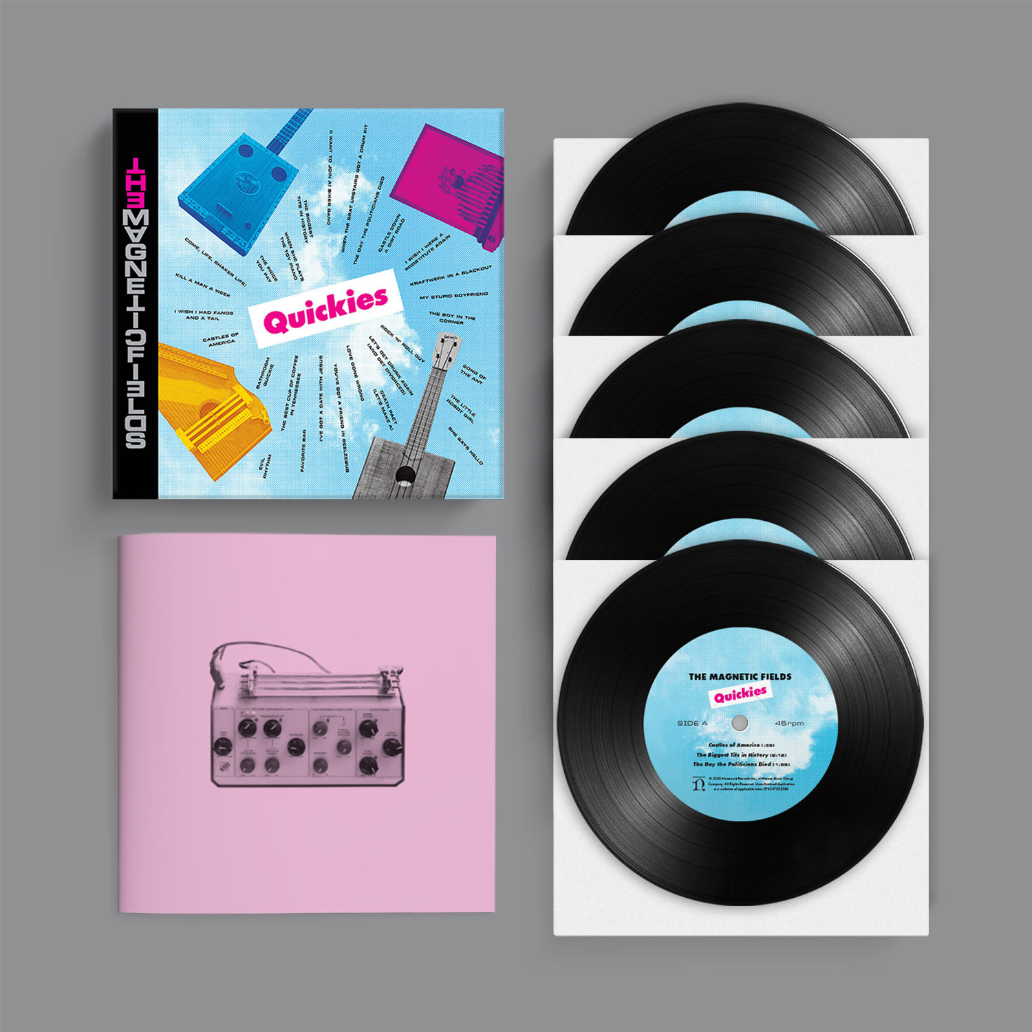 The Magnetic Fields – Quickies Limited Edition Box Set