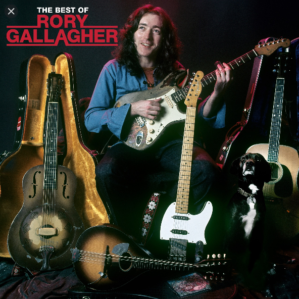 Rory Gallagher - The Best Of: Limited Edition Double Clear Vinyl