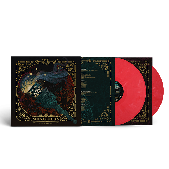 Mastodon - Medium Rarities Limited Edition Almost Pink (Solid Red/White) Vinyl