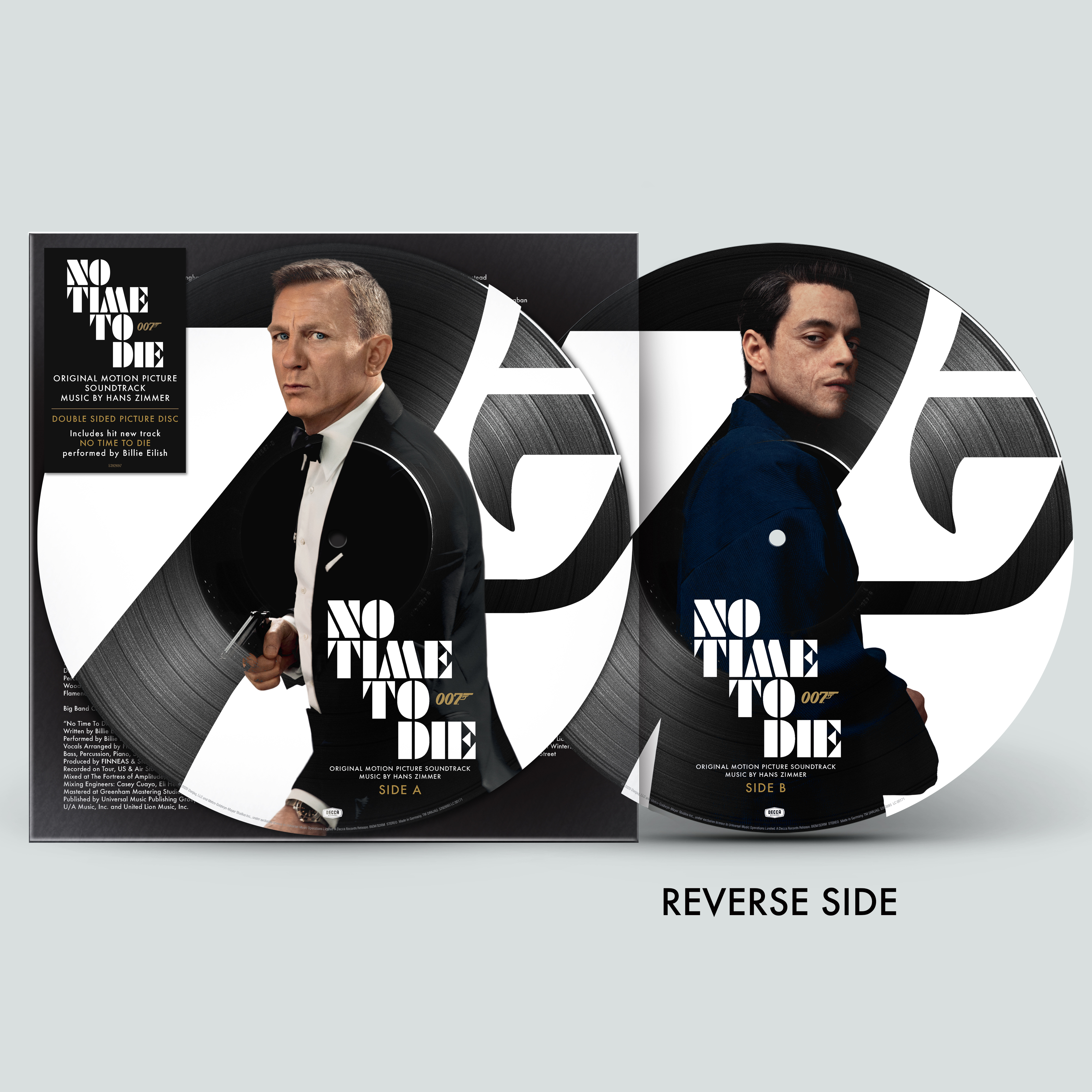 No Time To Die OST Indie Exclusive Picture Disc Vinyl