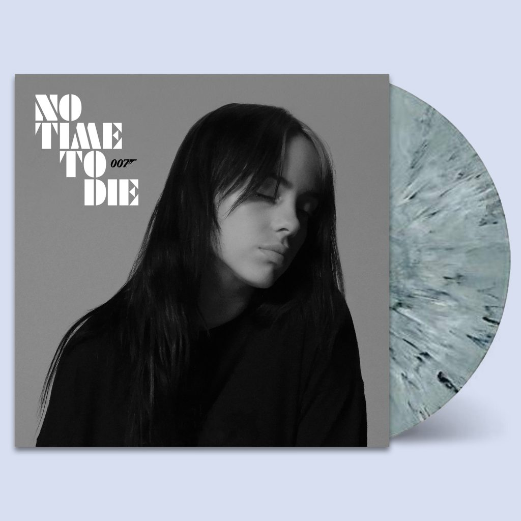 "Billie Eilish - No Time to Die 7"" Smoke Vinyl"