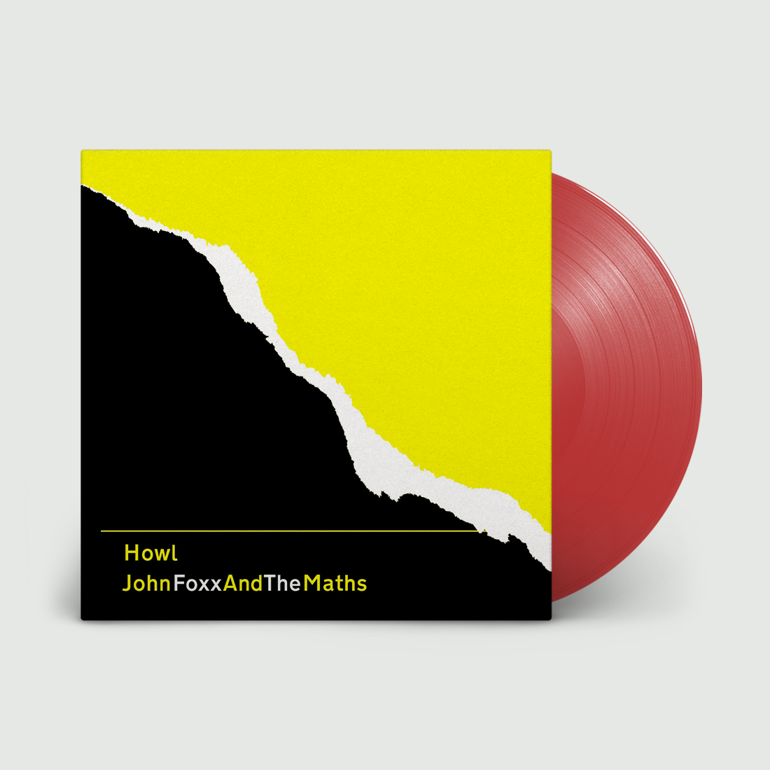 John Foxx and The Maths - Howl Limited Edition Red Vinyl