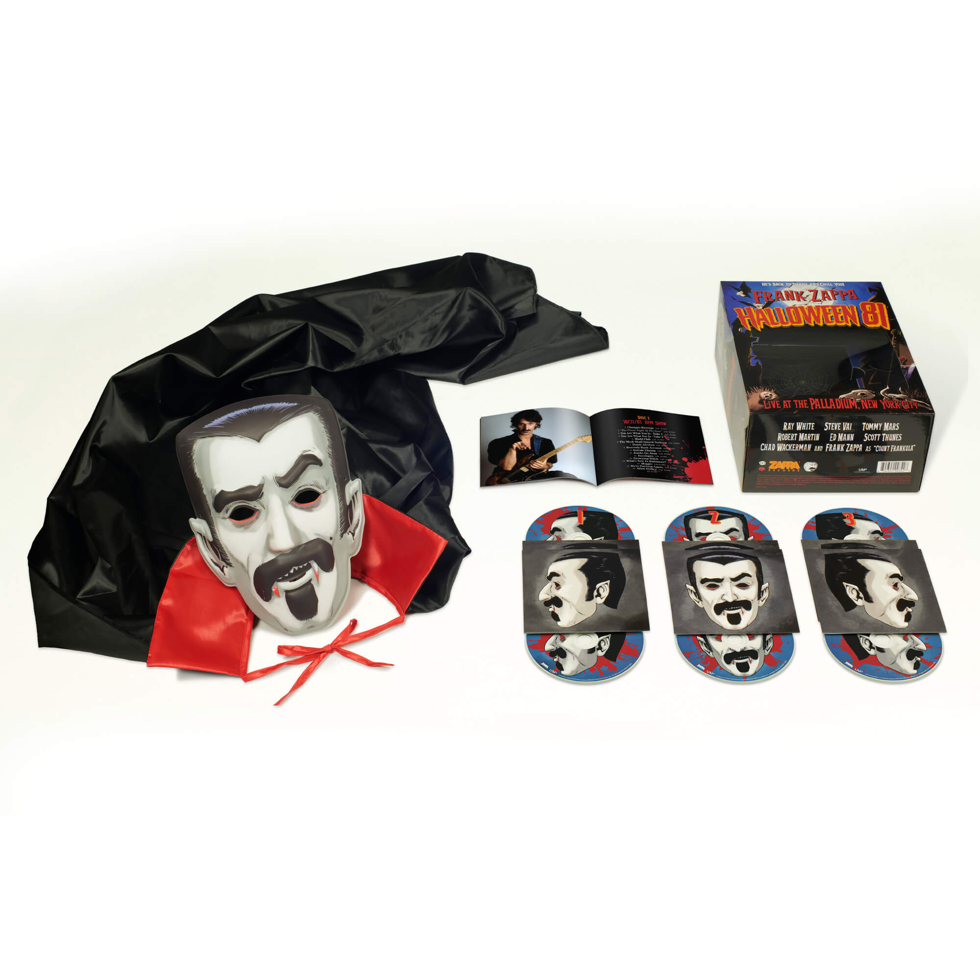 Frank Zappa – Halloween 81: 6CD Box Set