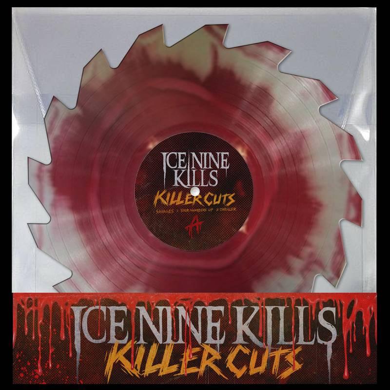 "Ice Nine Kills - Savages (Buzzsaw Vinyl) (Ltd RSD 2020 10""EP)"