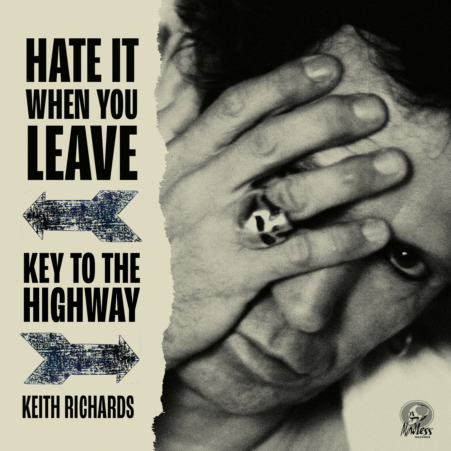 Keith Richards - Hate It When You Leave b/w Key To The Highway