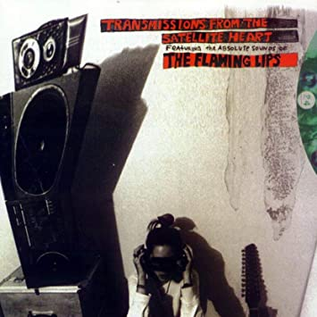 The Flaming Lips - Transmissions From The Satellite Heart Limited Edition Black And White Mix Vinyl