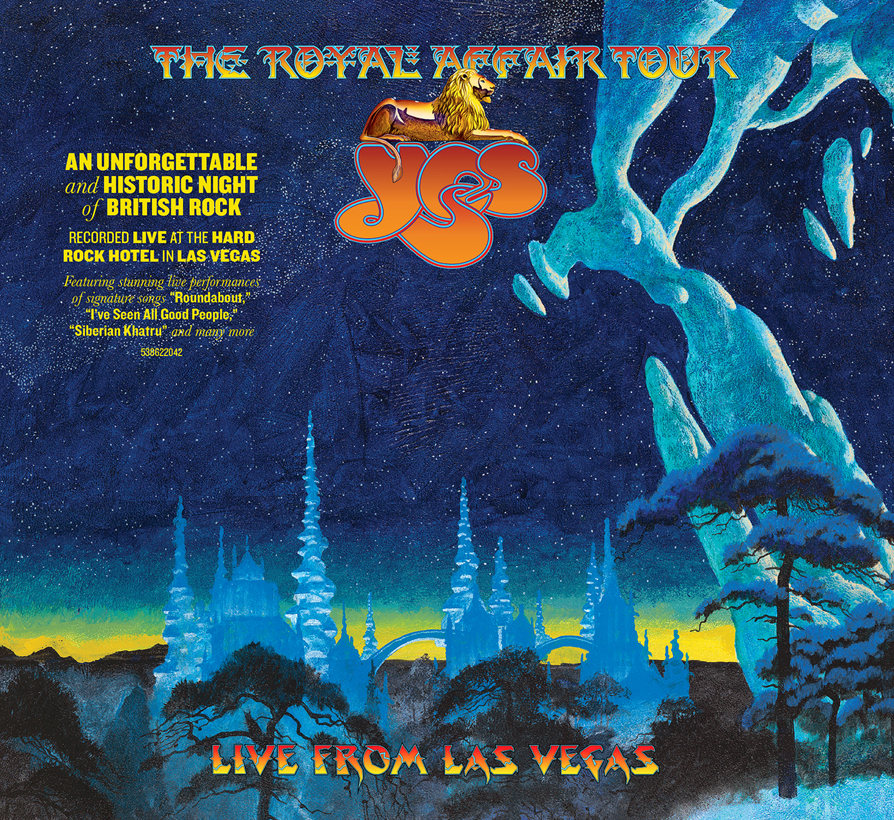 YES - The Royal Affair – Live in Las Vegas