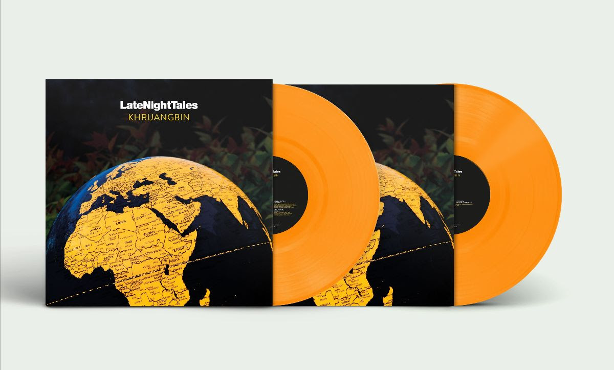 Khruangbin - Late Night Tales Limited Edition 2LP Orange Vinyl