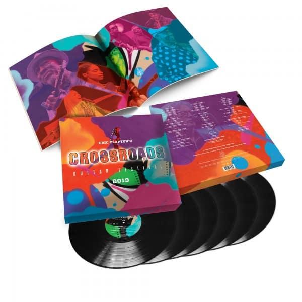 Eric Clapton's Crossroads Guitar Festival 2019 6LP Deluxe Box Set