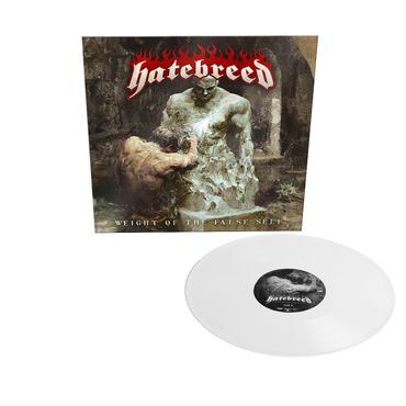 Hatebreed - Weight Of The False Self Limited Edition Indie Exclusive White Vinyl