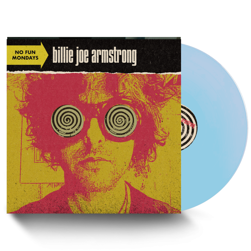 Billie Joe Armstrong - No Fun Mondays Limited Edition Indie Exclusive Baby Blue Vinyl