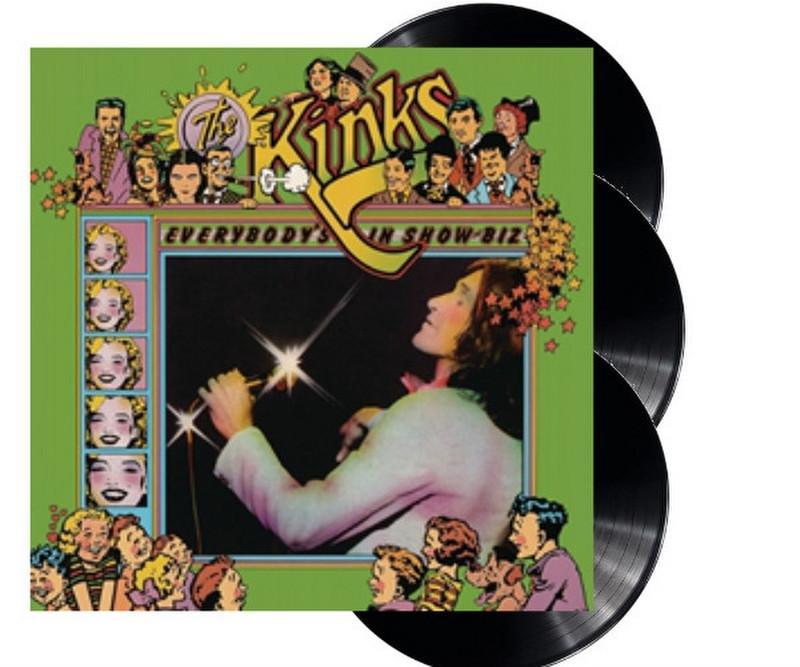 The Kinks - Everybody's In Show-Biz 3LP