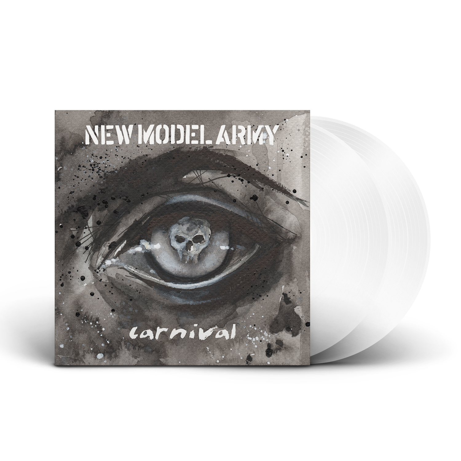 New Model Army - Carnival Limited Edition White Vinyl