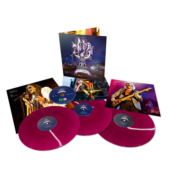 Aerosmith - Rocks Donington 2014: Limited Edition Purple 3LP Vinyl + DVD