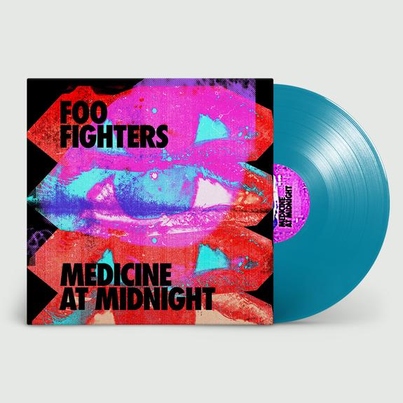 Foo Fighters - Medicine At Midnight Limited Edition Blue Vinyl