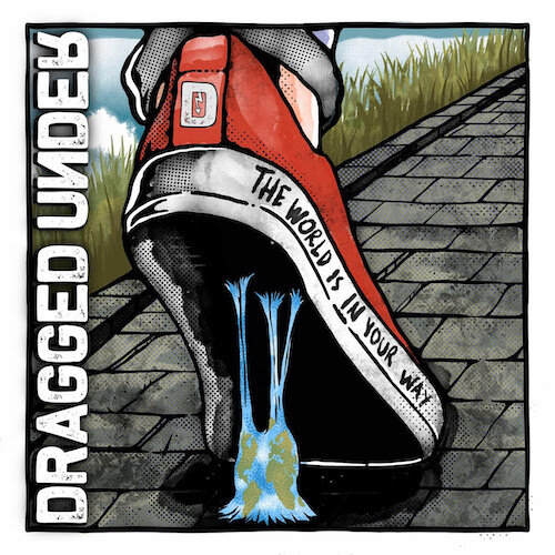 Dragged Under - The World Is In Your Way Limited Edition Clear and Green Splatter Vinyl