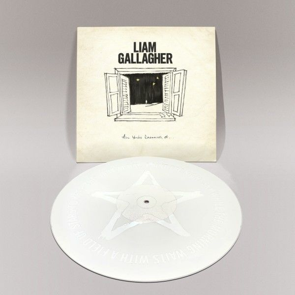"""Liam Gallagher - All You're Dreaming Of Limited Edition White 12"""" Vinyl"""