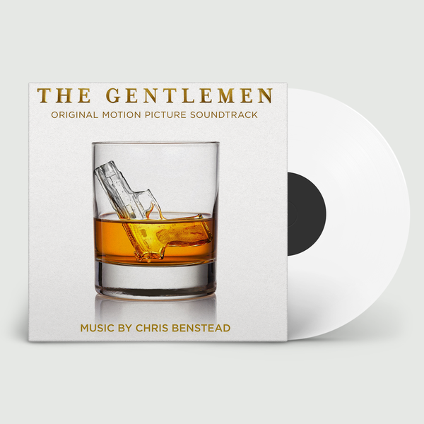 Christopher Benstead - OST The Gentlemen Limited Edition White Widow Vinyl 500 Made Individually Numbered