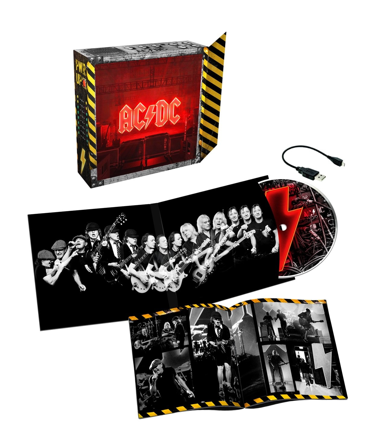 AC/DC - Power Up CD Deluxe Limited Edition Light Box