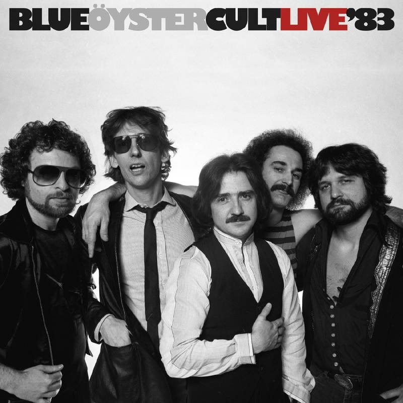 Blue Oyster Cult - Live '83 (Limited 2-LP Blue with Black Swirl Vinyl Edition) (Record Store Day/Black Friday Exclusive)