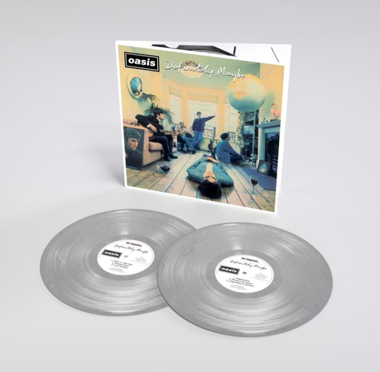 Oasis - Definitely Maybe: 25th Anniversary Limited Edition Silver Vinyl