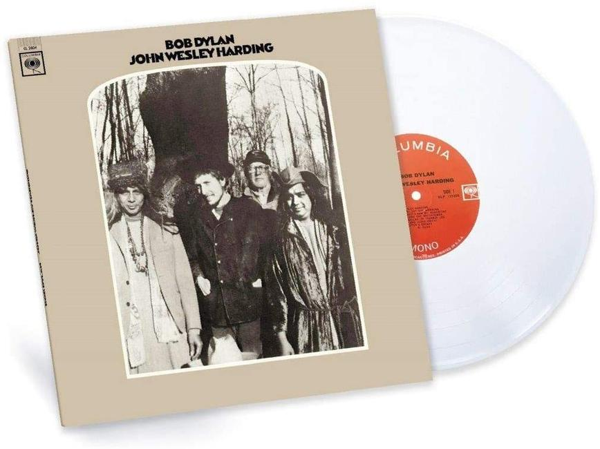 Bob Dylan - John Wesley Harding Limited Edition White Vinyl