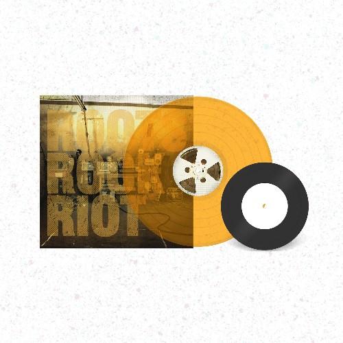 """Skindred - Roots Rock Riot Limited Edition Translucent Orange Vinyl + 7"""""""