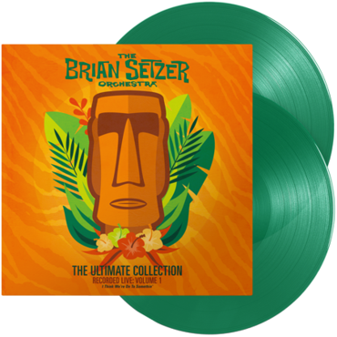 Brian Setzer and the Brian Setzer Orchestra - The Ultimate Collection Vol 1 Limited Edition 2LP Green Vinyl