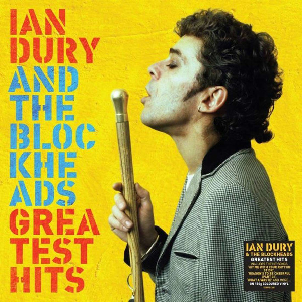 Ian Dury and The Blockheads - Greatest Hits Limited Edition Yellow Vinyl