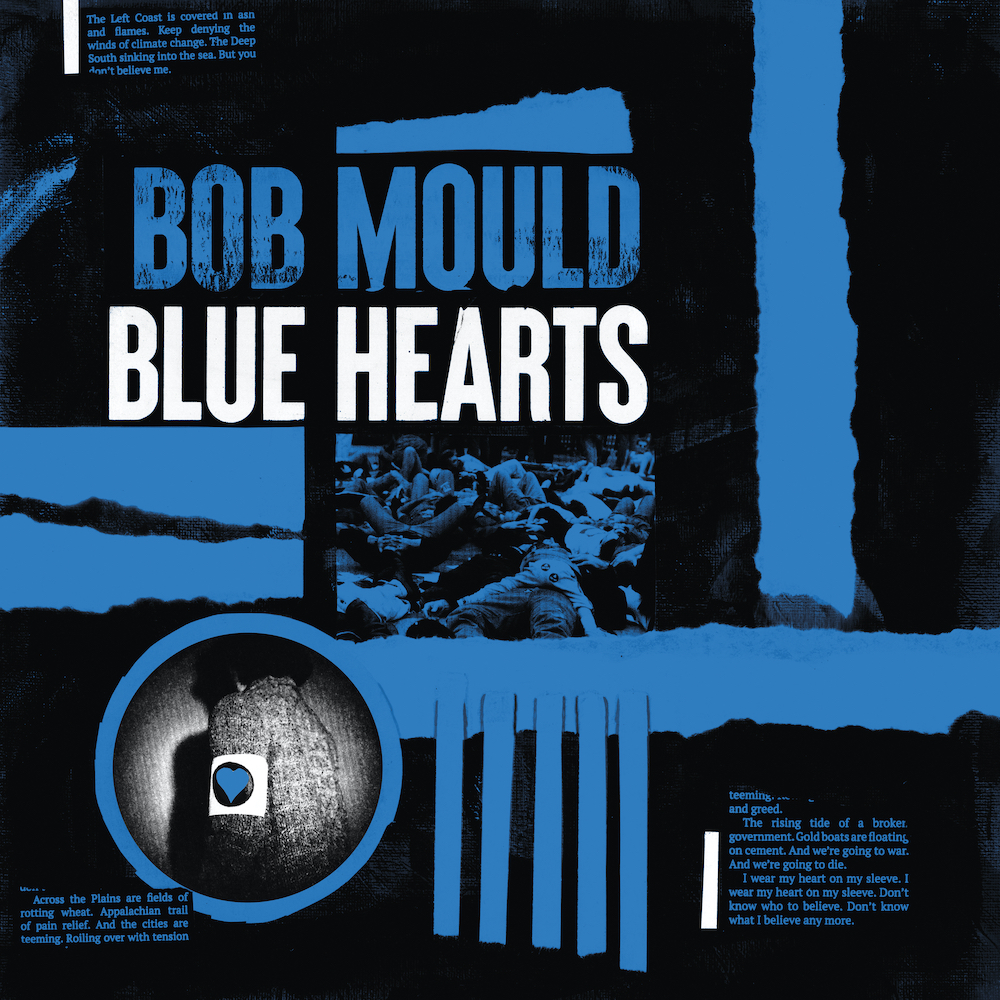 Bob Mould - Blue Hearts Limited Edition Tri-Colour Vinyl