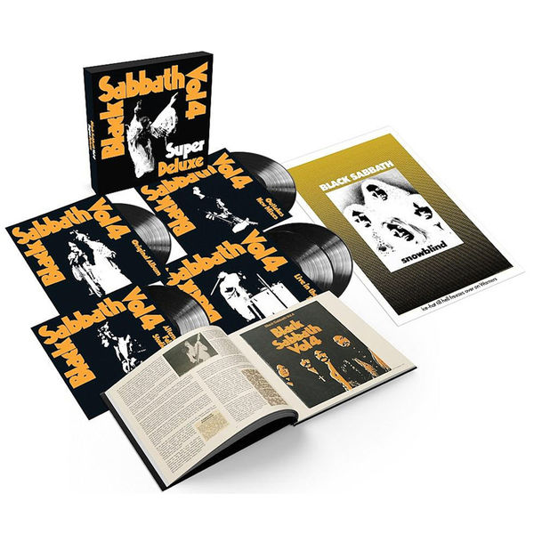 Black Sabbath - Vol 4: Limited Edition Super Deluxe 5 LP Box Set