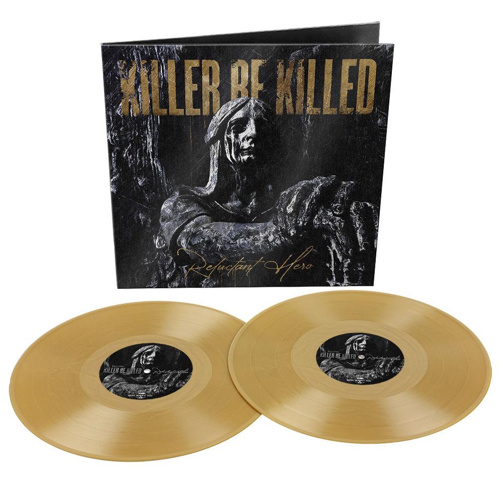 Killer Be Killed - Reluctant Hero Limited Edition Gold 2LP Vinyl