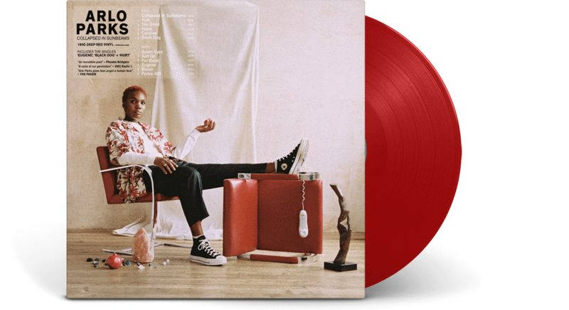 Arlo Parks - Collapsed In Sunbeams Limited Edition Red Vinyl