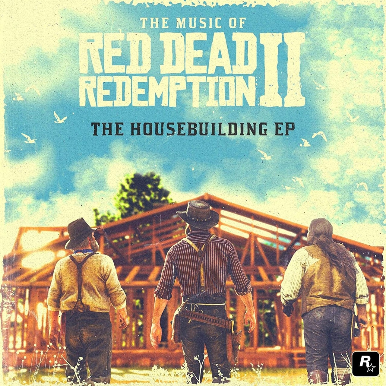 "Various Artists - The Music of Red Dead Redemption II: The Housebuilding EP Limited Edition Sky Blue 10"" Vinyl"