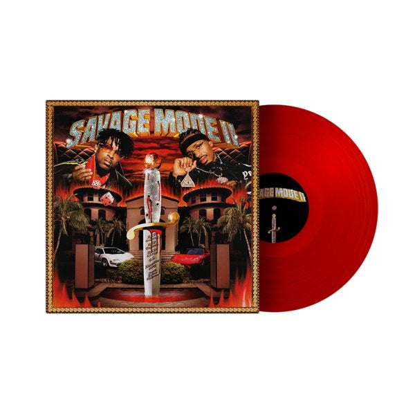 21 Savage and Metro Boomin - Savage Mode II Limited Edition Red Vinyl