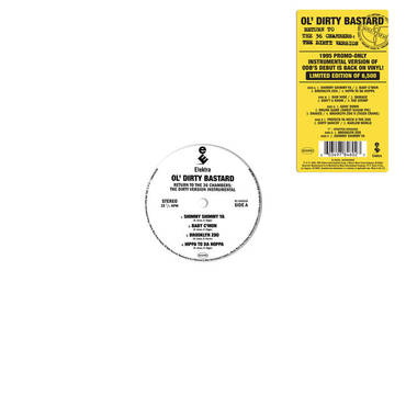 "Ol' Dirty Bastard - Return to the 36 Chambers: The Dirty Version (The Instrumentals) 2LP + 7"" RSD20"
