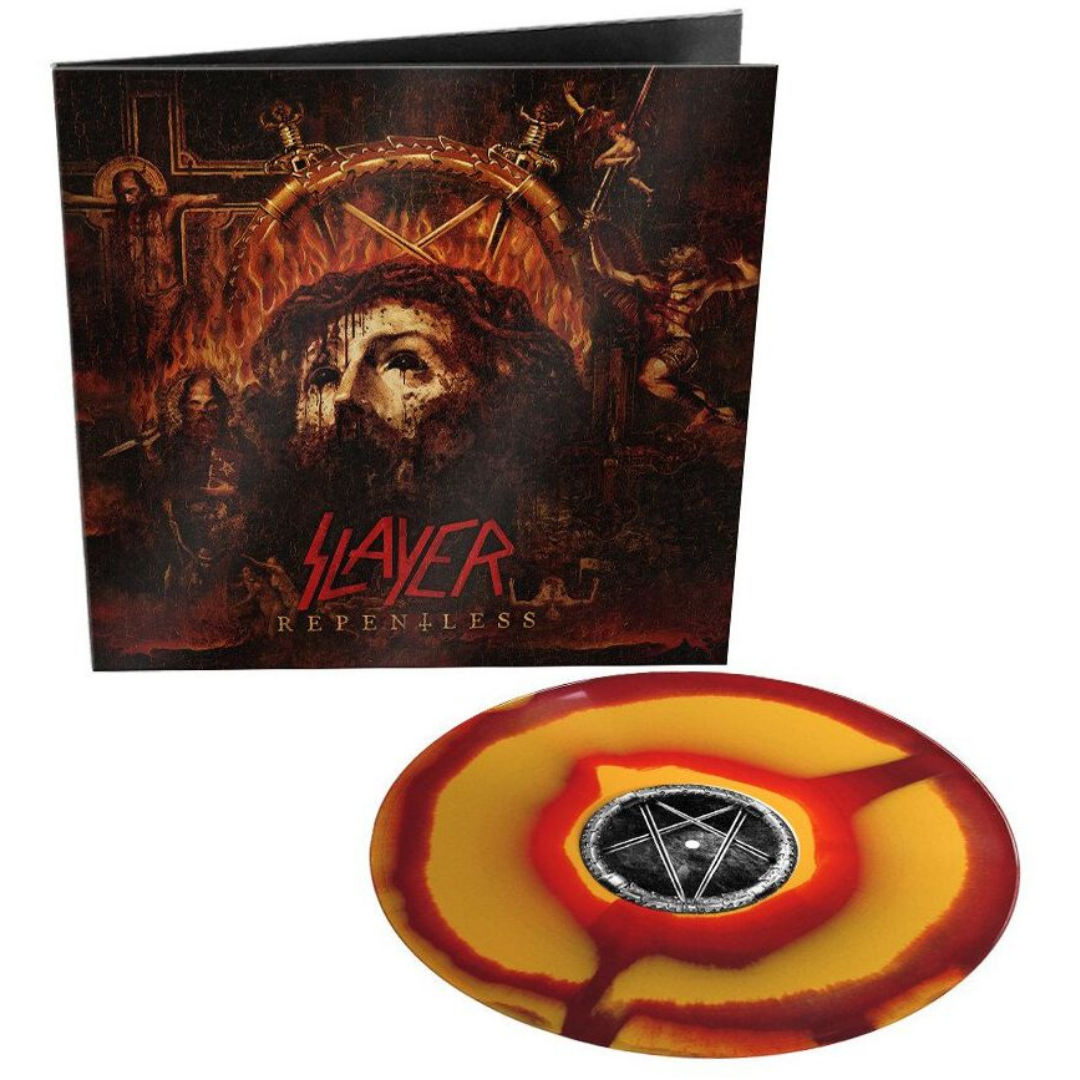 Slayer - Repentless Limited Edition Orange and Red Corona Vinyl