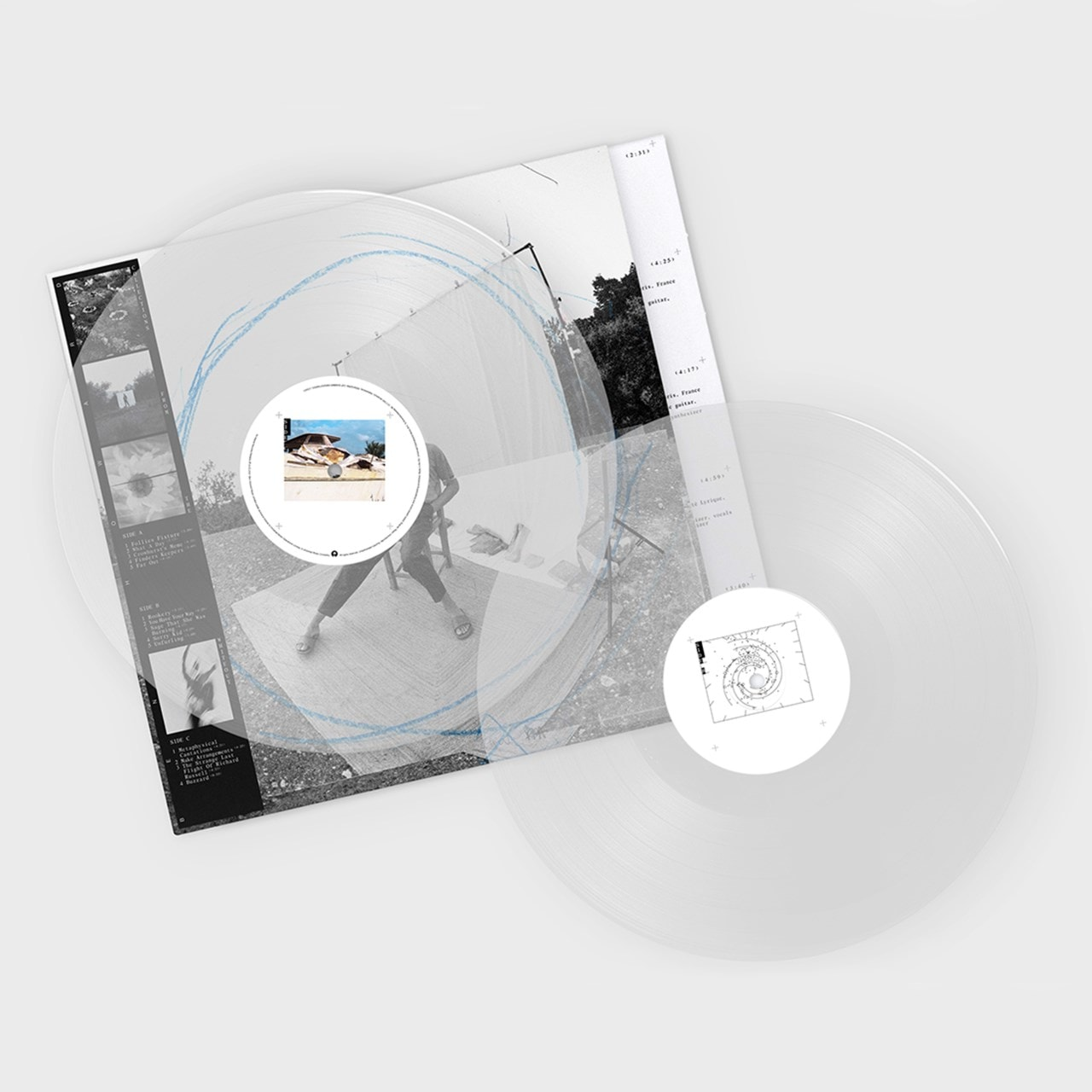 Ben Howard - Collections From the Whiteout Limited Edition Clear Vinyl