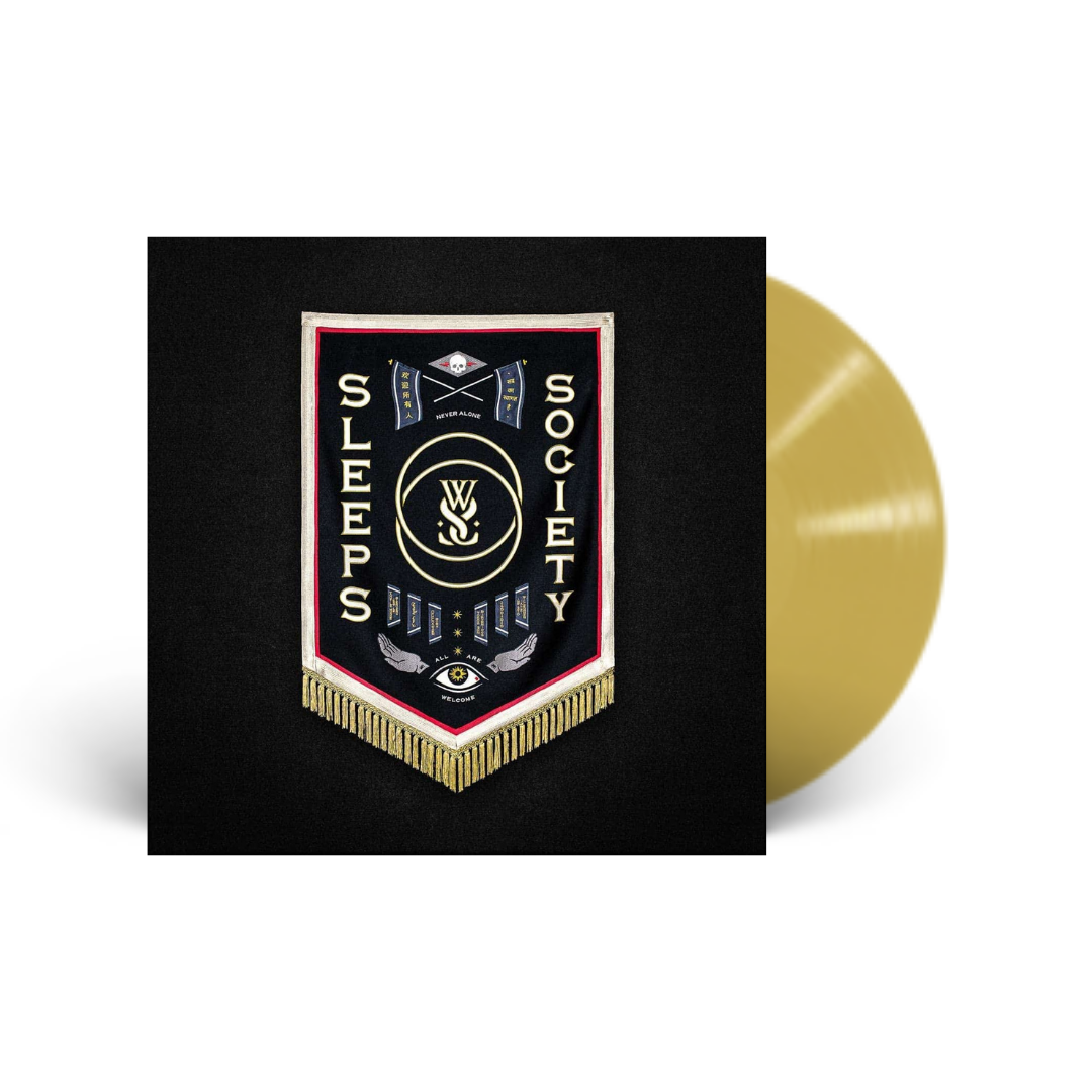 While She Sleeps - Sleeps Society Limited Edition Gold Nugget Vinyl