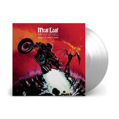 Meat Loaf - Bat Out Of Hell Limited Edition Clear Vinyl